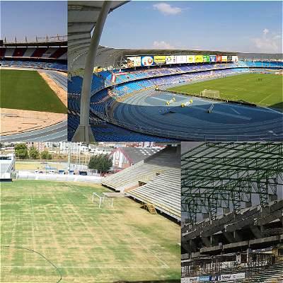 Infografía: conozca cómo están los principales estadios de Colombia