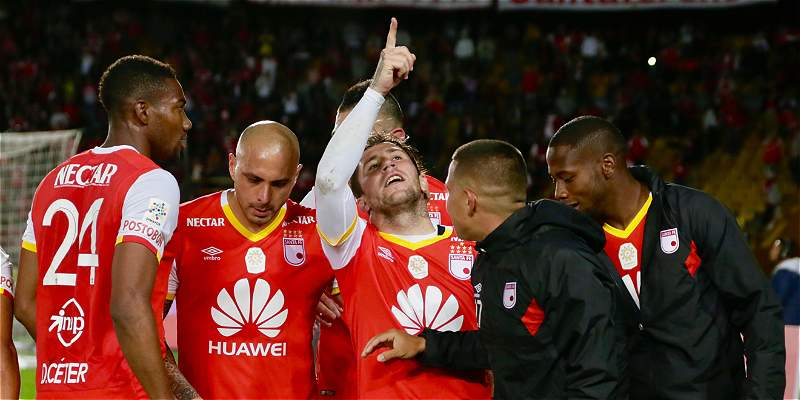 Santa Fe triunfo sobre Bucaramanga