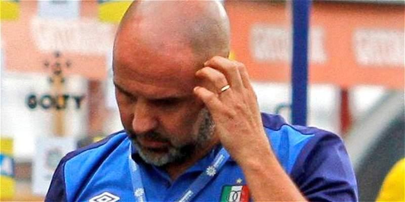 Once Caldas no seguirá con el director técnico Hernán Lisi