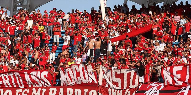 Barra brava de América no promete seguridad en duelo Cortuluá-Nacional