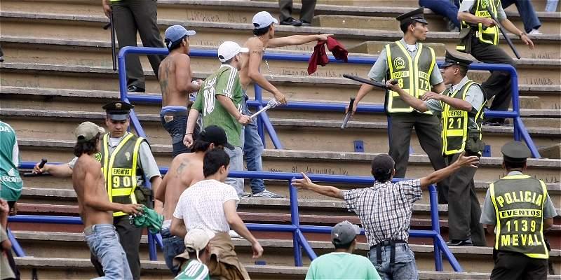Clubes de Dimayor hicieron el quite para frenar violencia en estadios