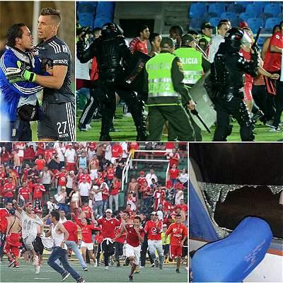 Violencia en el fútbol colombiano, de hechos aislados a mala costumbre