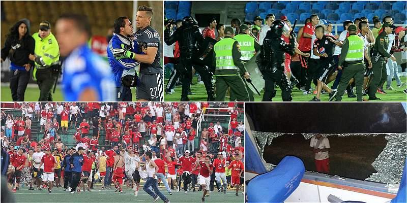 Violencia en el fútbol colombiano
