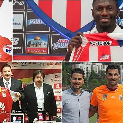 Así se mueve el mercado de fichajes del fútbol colombiano