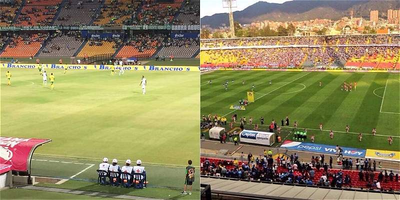 Malas asistencias fútbol colombiano