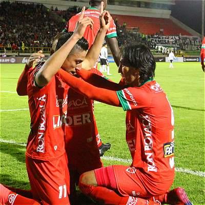 Primera victoria de Patriotas en Liga: derrotó 2-0 a Tigres en Bogotá