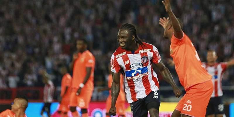 Yimmi Chará (8) ya lleva 6 goles en la actual Liga II.