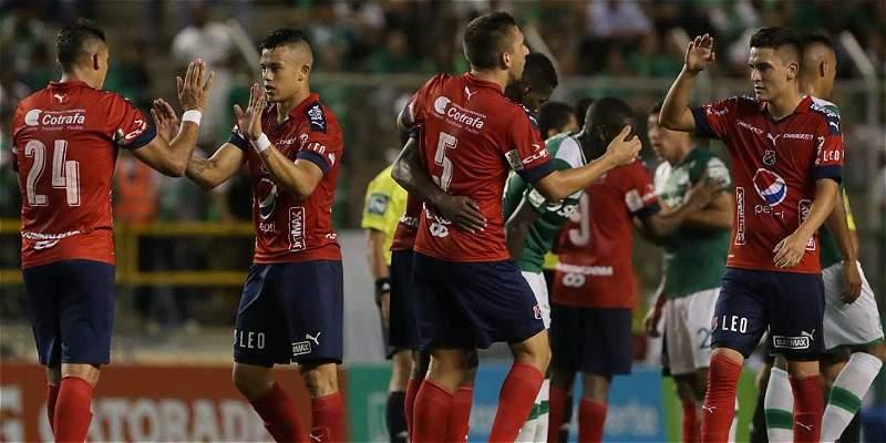 Medellín se dio un paseo en Palmaseca: derrotó 1-3 al Deportivo Cali