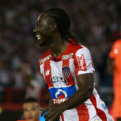 Yimmi Chará rescató al Junior en Neiva: igualó 1-1 contra Huila