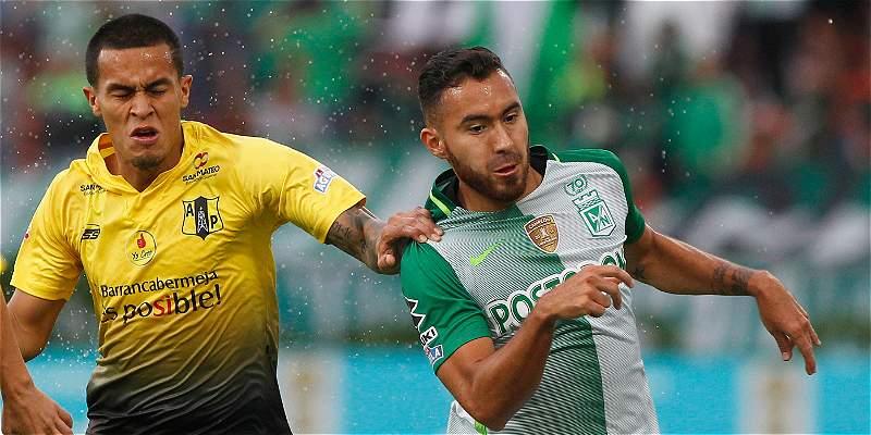 Nacional gustó y goleó 4-0 a Alianza Petrolera en el Atanasio Girardot