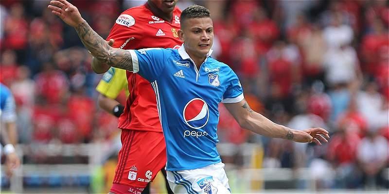 'Poco a poco me voy adaptando al fútbol colombiano': Alexis Zapata