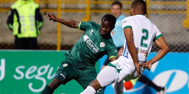 Valencia salvó a La Equidad con el gol del triunfo 1-0 contra Huila