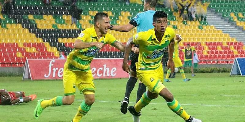 DIM rescató un punto jugando con diez: 1-1 en su visita a Bucaramanga