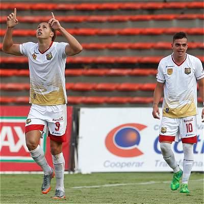 Rionegro Águilas sorprendió a Medellín en el Atanasio y lo derrotó 1-2