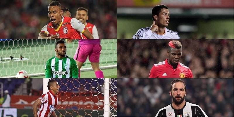 Colombia vs. principales ligas europeas ¿Dónde se juegan más partidos?