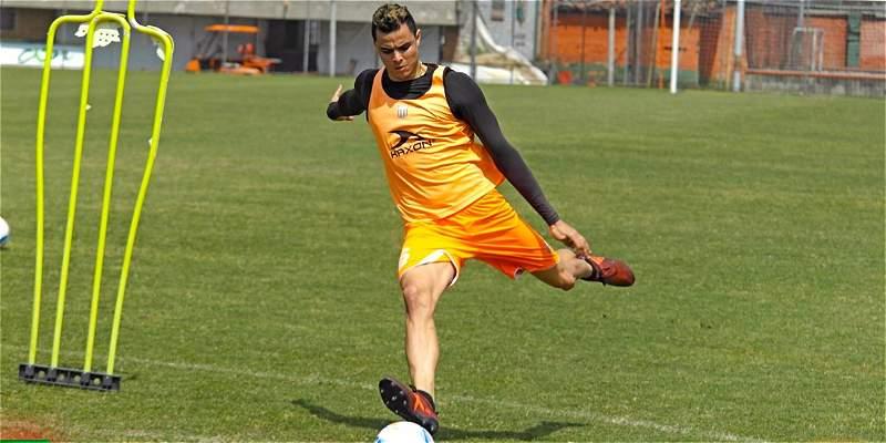 Giovanni Moreno con Envigado