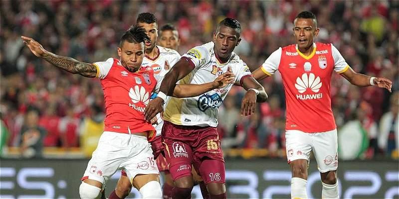 Santa Fe es finalista de Liga II: igualó 1-1 con Tolima en El Campín