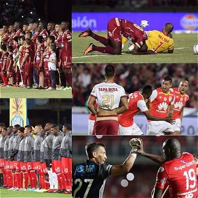 Semifinales Liga Águila II 2017