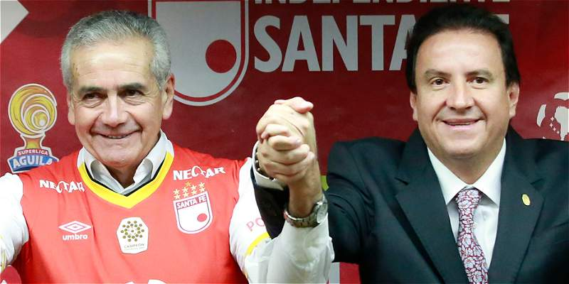 Santa Fe llega a la final número 13 con César Pastrana como presidente