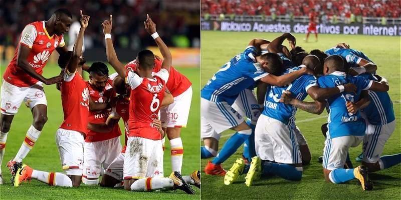 TriviaRED: Millonarios y Santa Fe, dos equipos parejos definen la Liga