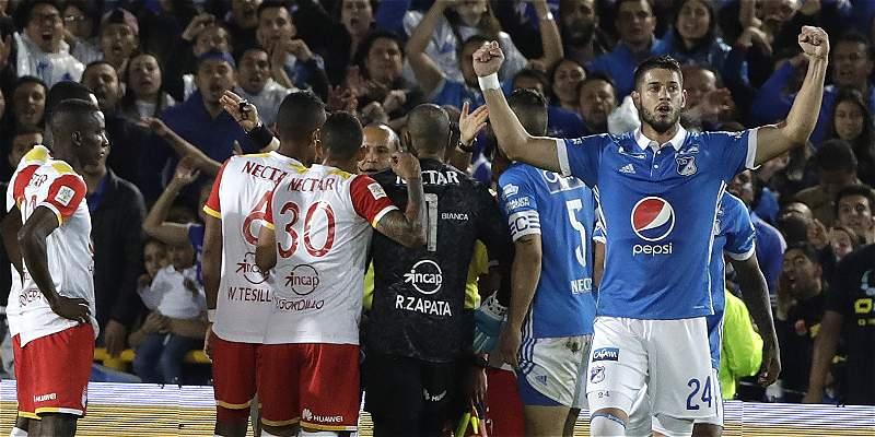 Millonarios vs Santa Fe Final Liga Águila II 2017