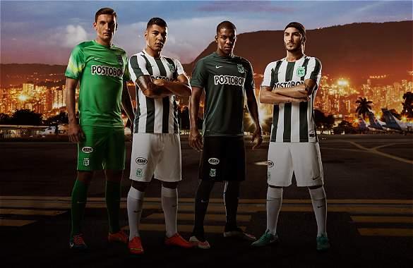 Nuevas camisetas Nike de Atlético Nacional