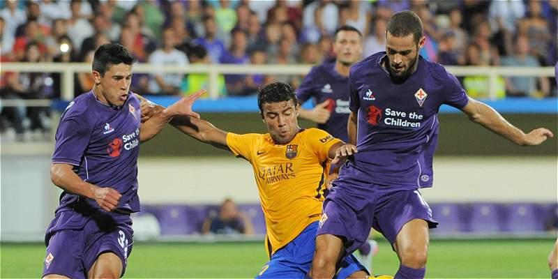 Barça sigue de \'vacaciones\': perdió 2-1 con la Fiorentina, en amistoso