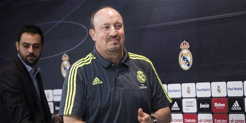 Rafael Benítez DT Real Madrid