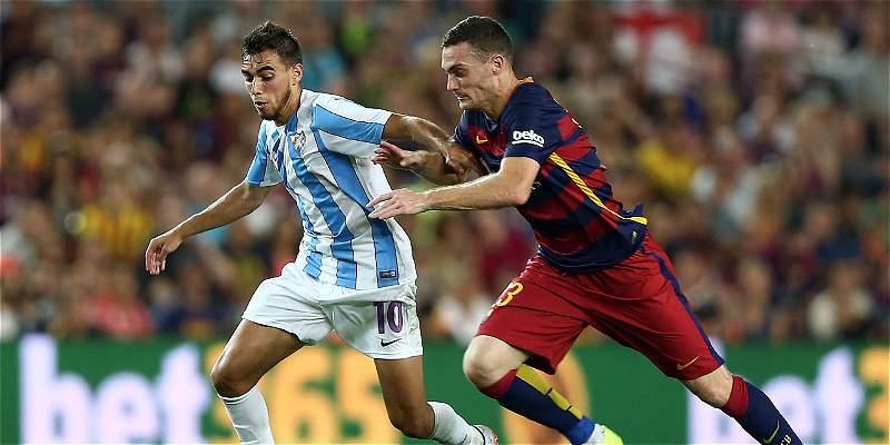 Con gol de Vermaelen, Barcelona derrotó 1-0 a Málaga