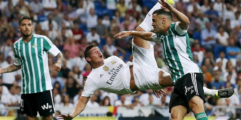 Las mejores imágenes del triunfo 5-0 de Real Madrid sobre Betis