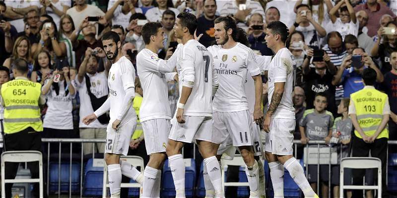Real Madrid goleó 5-0 a Betis en el Bernabéu