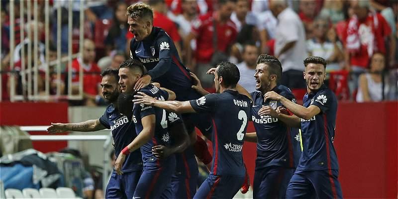 Con gol de Jackson, Atlético de Madrid derrotó 0-3 a Sevilla