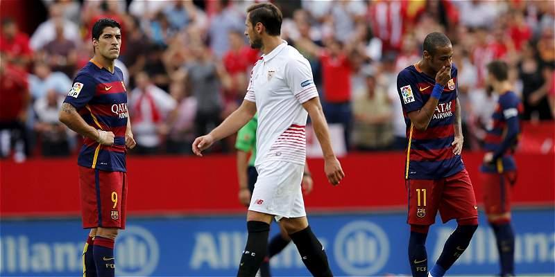 Nuevo traspié para el Barcelona: cayó 2-1 con el Sevilla