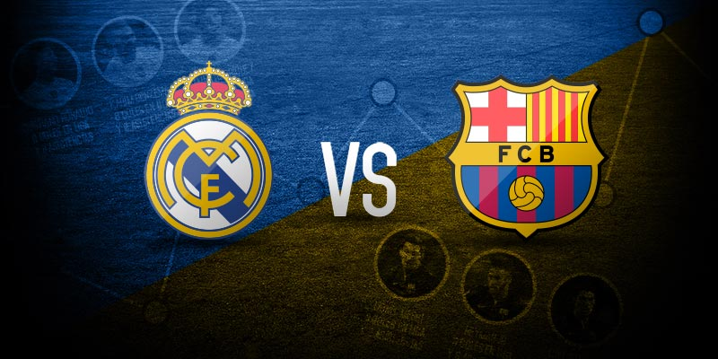 Foto para infografía del Real Madrid vs Barcelona