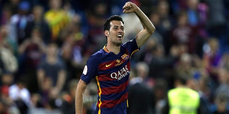 ¡Busquets, para rato!: renovó con Barcelona por cinco temporadas más