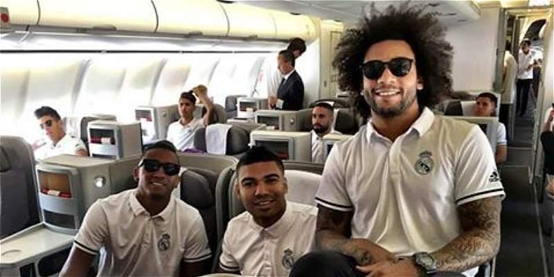 Real Madrid viajó a Canadá para preparar la pretemporada