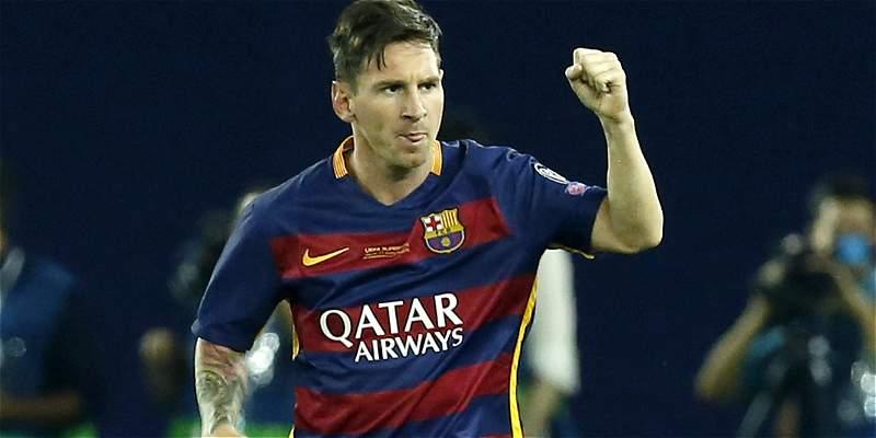 Messi ya está con Barcelona y viajará a la concentración en Inglaterra