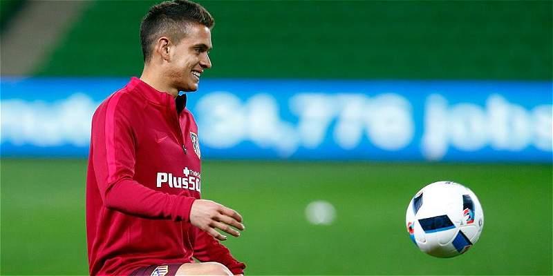 Rafael Santos Borré está con Atlético de Madrid en Australia