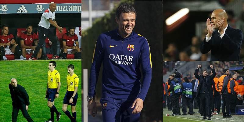 La Liga de España comenzará con 8 DT\'s nuevos en los banquillos
