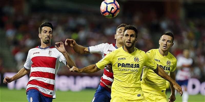 Villarreal, con Borré los últimos 12 minutos, empató 1-1 con Granada