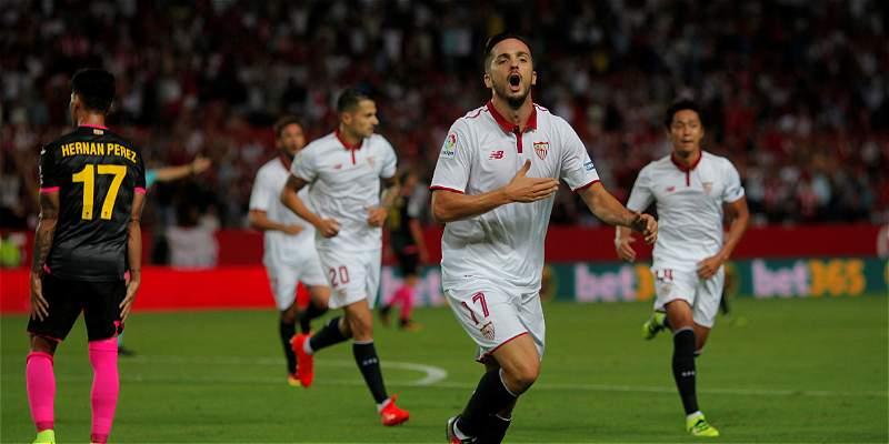 Festival de goles en el Sánchez Pizjuán: Sevilla 6 - Espanyol 4