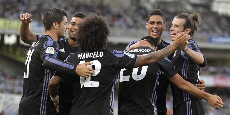 Real Madrid venció a Real Sociedad