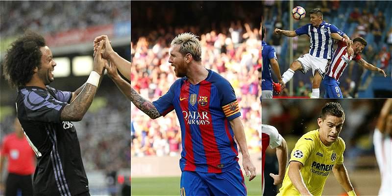 Barcelona, Real Madrid y Sevilla: a reconfirmar su supremacía en Liga