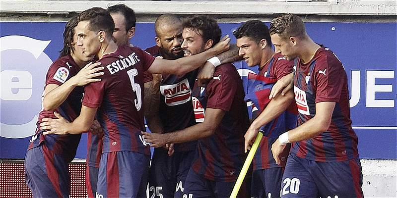 Eibar ganó por primera vez al Valencia: 1-0, en Liga de España