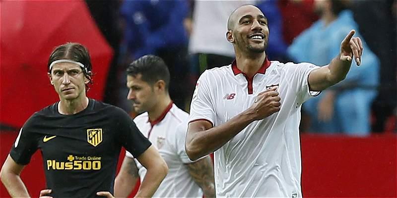 Sevilla mira desde lo alto en la Liga: venció 1-0 a Atlético de Madrid