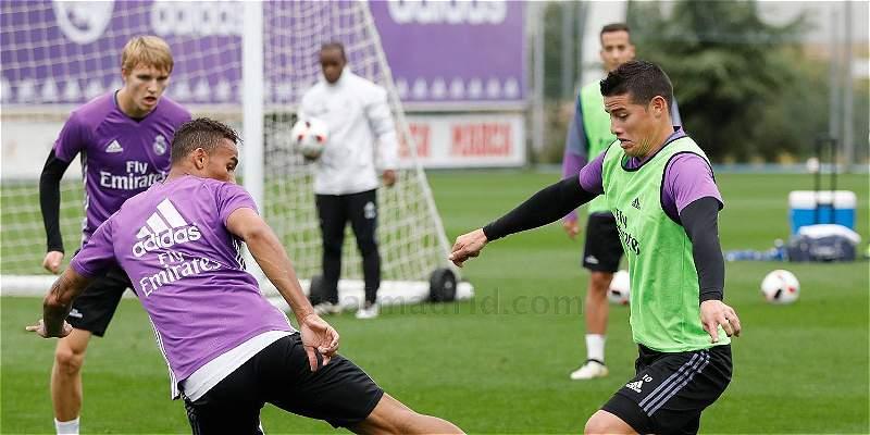 Real Madrid se entrenó pensando en el debut en la Copa del Rey