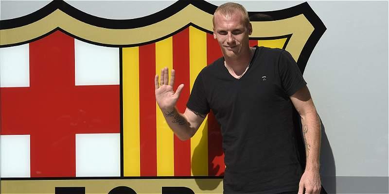 Mathieu se lesionó y se une a las bajas en la defensa del Barcelona