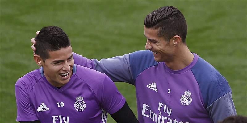 James Rodríguez, convocado para juego de Real Madrid contra Barcelona