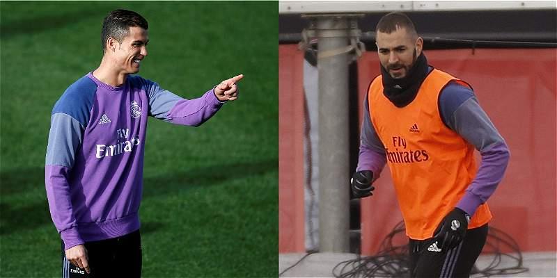 Cristiano y Benzema, sinónimo de gol para el Real Madrid en el clásico