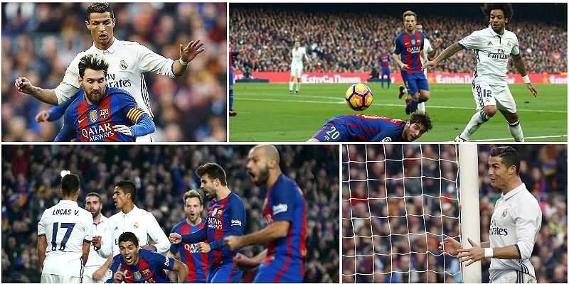 En fotos: los protagonistas del empate entre Barcelona y Real Madrid
